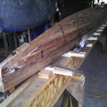 Building of New Koa Canoe