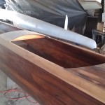 Building of New Koa Canoe