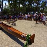 Koa Canoe Blessing