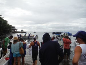 The start of the race - 32 mile Fiji Uprising Challenge